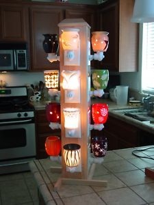 Display for Scentsy Plugins. I like this idea! Wonder where I get one of these!?