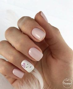 Cute Nails, Pretty Nails, Graduation Nails, Basic Nails, Hair And Nails, My Nails, Minimalist Nails, Nail Candy, Bridal Nails