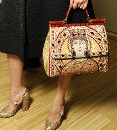 """Dolce & Gabbana Winter 2014 """"Tailored Mosaic"""""""