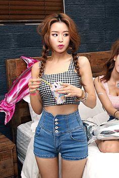 Shop here : sthsweet.com  #denim #dress #teen #cute #blue #style #chic #girl #street #skirt #jeans #sassy