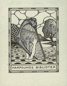 [Ex libris Harpsunds bibliotek] by Stifts- och landsbiblioteket i Skara, via Flickr