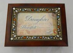 Musical Jewelry Box (Daughter) by Cottage Garden #CottageGarden