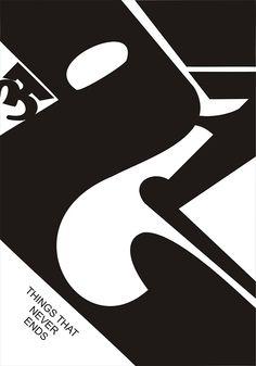 Akshar- things that never ends on #Behance #typography #design #devnagri #lettering