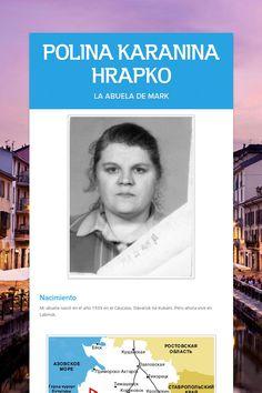 POLINA KARANINA HRAPKO, la abuela de Mark