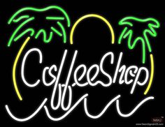 Coffee Shop Real Neon Glass Tube Neon Sign,Affordable and durable,Made in USA,if you want to get it ,please click the visit button or go to my website,you can get everything neon from us. based in CA USA, free shipping and 1 year warranty , 24/7 service