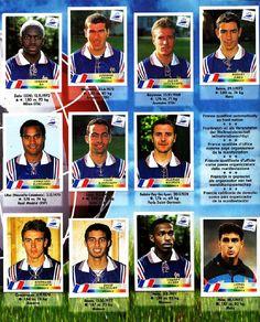 World Cup Winners in Panini Stickers