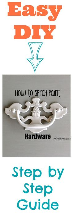 How to spray paint h