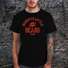 Mommys Little Bears Football TShirt Cotton Men by CoffeenTeeShirt, $15.99
