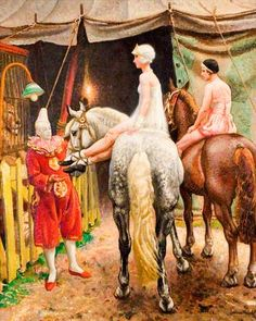 dame laura knight paintings | Laura Knight paintings