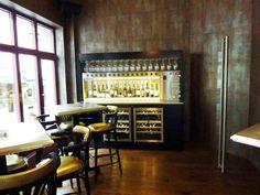 Self service Wine dispenser in Cigar lounge Switzerland.