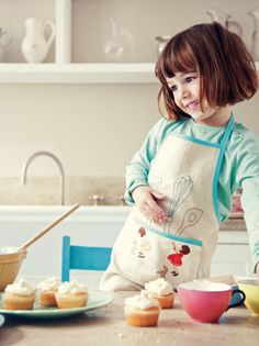 Belle and Boo - little baker apron