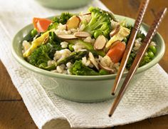 Rice Fried Vegetables