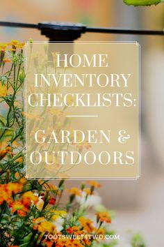 Has quarantine have you up your gardening game? Here are nine inventory checklists to help you in your home inventory project all related to patios, gardens, and outdoor spaces! #Simplify #SimpleLiving #MomLife #MomHacks #TipsforMoms #Downsize #Organize #HandlingMomLife #Homemaking Home Inventory, Hardscape Design, Christian Homemaking, Home Organization Hacks, Diy Patio, Garden Planters, Porch Decorating, Simple Living, Amazing Gardens
