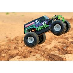 Traxxas Monster Jam 2WD 1/16 Scale RC Truck (7202A) - Grave Digger : RC Cars & Land Vehicles - Best Buy Canada