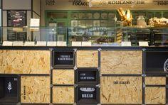 Generalunternehmung by retailpartners ag. Bar Design, Freshly Baked, Restaurant Design, Bread Baking, Architecture, Liquor Cabinet, Bakery, Home Decor, Baking