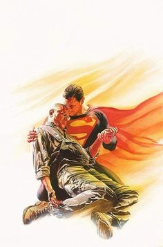 Superman Cover by Alex Ross