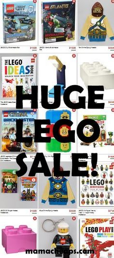 MamaCheaps.com: Huge LEGO Sale – Toy Sets, Books, Apparel, Gear, Party Supply and More from $7.99 (Up to 50% Off)