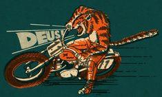 Adam Nickel Illustration — Deus Ex Machina Art And Illustration, Illustrations Posters, Motorcycle Posters, Motorcycle Art, Bike Art, Deus Ex Machina, Interview, Motorbikes, Vintage Posters