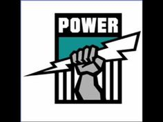 We got the power the win! Power to rule! We are the Power from Port, it's more than a sport! It's the true Port Adelaide t. Football Signs, Football Icon, Football Team Logos, Sports Logos, Football 2013, Melbourne, Brisbane, Australian Football League, West Coast Eagles