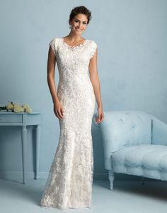 Beautiful dress for an older bride. | Clothing Ideas | Pinterest ...