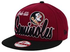 Florida State Seminoles New Era NCAA Team Script 9FIFTY Snapback Cap 01573a83a