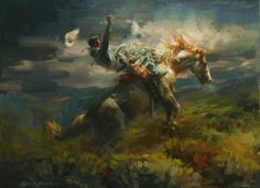 Robert Krogle 1944 - American Impressionist painter