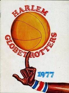 """superseventies: 1977 Harlem Globetrotters programme. """