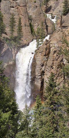Tower Falls, Yellowstone National Park, Wyoming - Aaron Spong  http://aaron-spong.artistwebsites.com/featured/tower-falls-yellowstone-aaron-spong.html