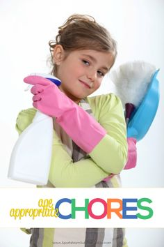 Why our kids should do age appropriate chores. Free printable chore list included! #kids #chores