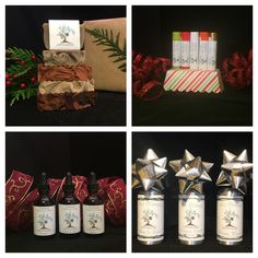 Under the tree, in the stocking, at the party, our creations make great gifts! You can see all that we have and order online at earthbodyandsoap.com