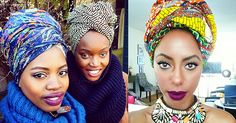Not sure how to create a head wrap with your scarf? Check out these 45 styles.