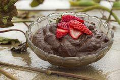 Raw Chocolate Avocado Mousse #recipe