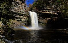 Cedar Falls with High Flow, Petit Jean State Park, October 31, 2009 (pinned by haw-creek.com)