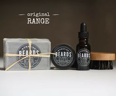 Bonafide Beards - Startup Pack – Original Scent  Your 4 easy steps to Beard…