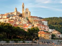 Village of Cervo, Liguria, Italy Italy Tourism, Italy Travel, Cool Places To Visit, Places To Go, Coral Garden, Italian Village, Seaside Towns, The Guardian, Dream Vacations