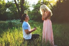 So in love with this dreamy photoshoot proposal. Everything about it is breathtaking!
