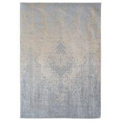 Louis de Poortere Fading Generation Beige Sky 8633 Vloerkleed - 200 x 280 cm Machine Made Rugs, Grey Rugs, Chen, Weaving, How To Find Out, Beige, Ornament, Latex, Wool