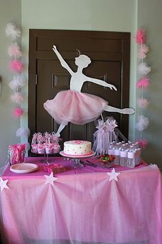 55 Mejores Imagenes De Fiesta Infantil Con Tema De Bailarinas