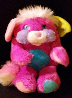 Vintage 1980s Mattel POPPLE Prize Popple Stuffed Plush Doll