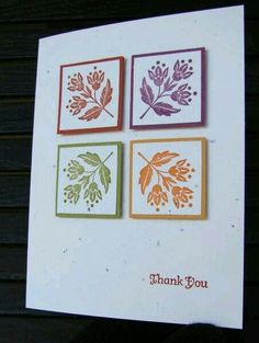 Uses the Stampin' Up Day of Gratitude stamps