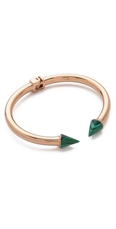 Vita Fede Mini malachite and gold | SHOPBOP