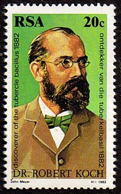 South Africa 1982 Dr Robert Koch Fine Mint                    SG 505 Scott 559          Condition Fine MNH    Only one post charge applied on
