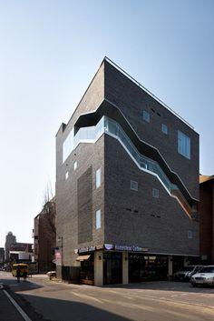 Wow!  Architectural art ~ The Bricks, Doojin Hwang Architects