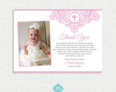 Printable Baptism Invitation Girls Baptism Invitation  Baby