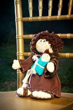 Santo Antônio para jogar para as solteiras ao invés do buquê de flores!