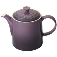 Le Creuset Stoneware 1.3 Litre Grand Teapot, Cassis: Amazon.co.uk: Kitchen & Home