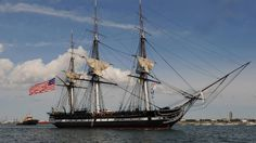 USS Constitution Old Ironsides Tall Ship Sailing