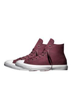 Converse Chuck Taylor All Star II Hi Top Deep Bordeux #Converse #ConverseFirstString #ChuckTaylor #Surrenderstore #ss16 #Surrenderous