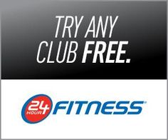 FREE Pass to 24 Hour Fitness | Closet of Free Samples | Get FREE Samples by Mail | Free Stuff
