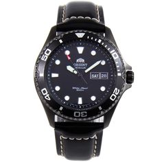 Orient Ray Raven II Automatic with Extra Strap Watch Gents Watches, Stylish Watches, Cool Watches, Rolex Watches, Watches For Men, Wrist Watches, Orient Watch, Authentic Watches, Men Necklace